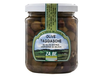 """TAGGIASCHE"" OLIVES IN EXTRA VIRGIN OLIVE OIL"