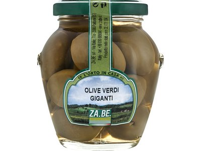 "BIG GREEN OLIVES ""GOURMET"""