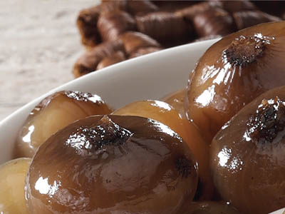 "BORETTANE ONIONS IN BALSAMIC VINEGAR ""CATERING"""