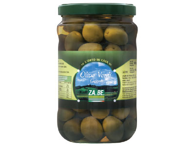 BIG GREEN OLIVES