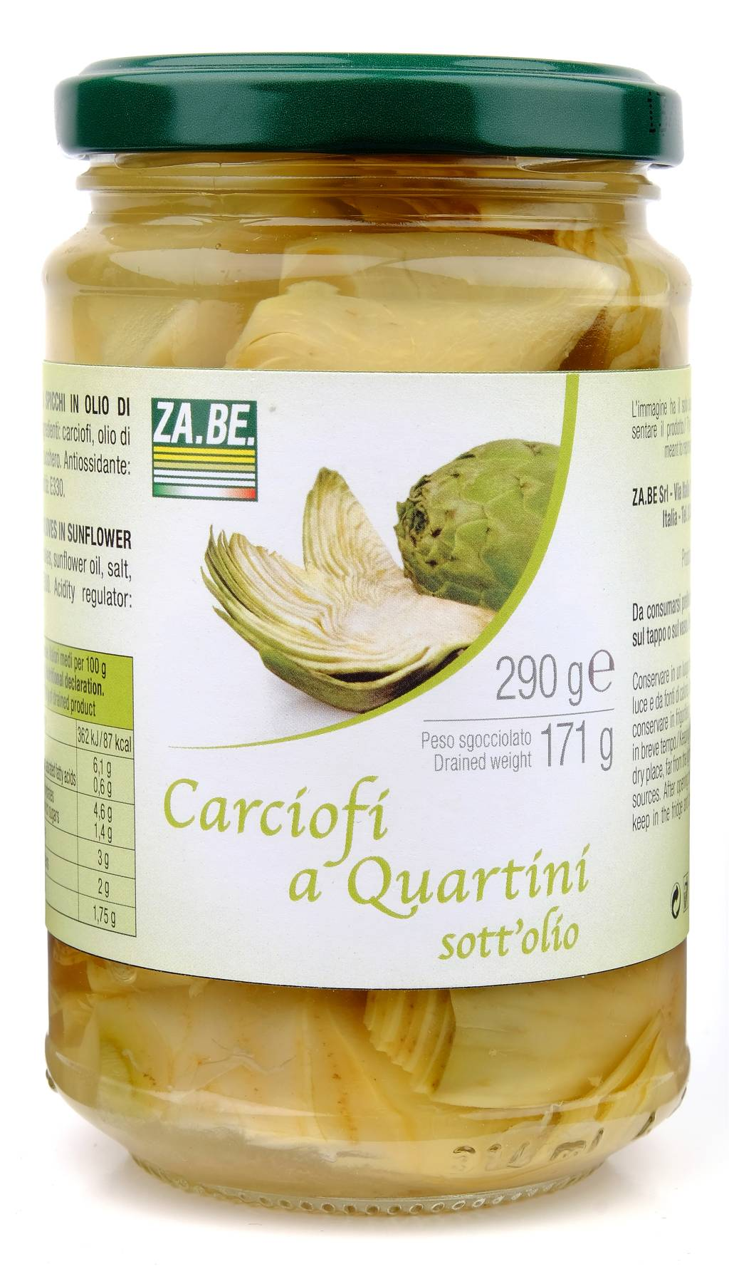 Carciofi A Quartini