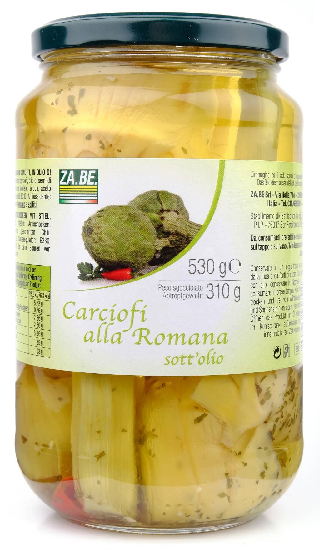 Carciofi Alla Romana