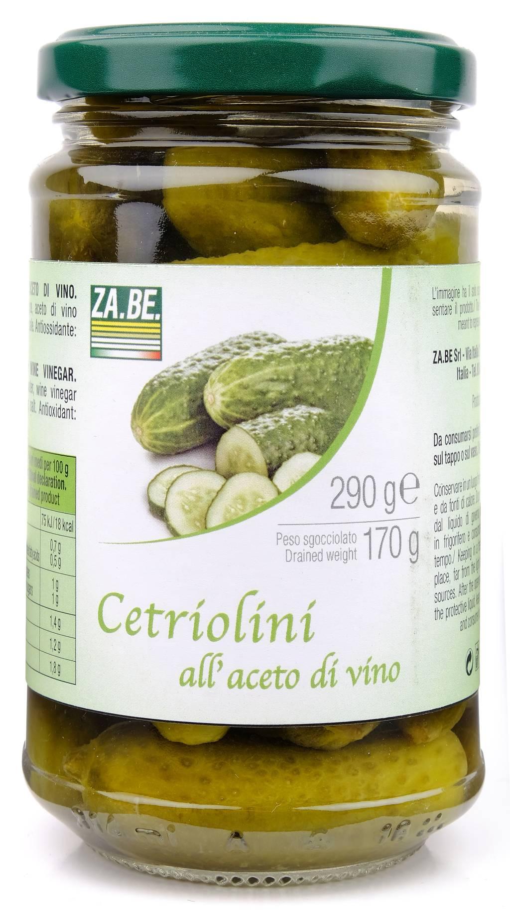 Cetriolini All'aceto