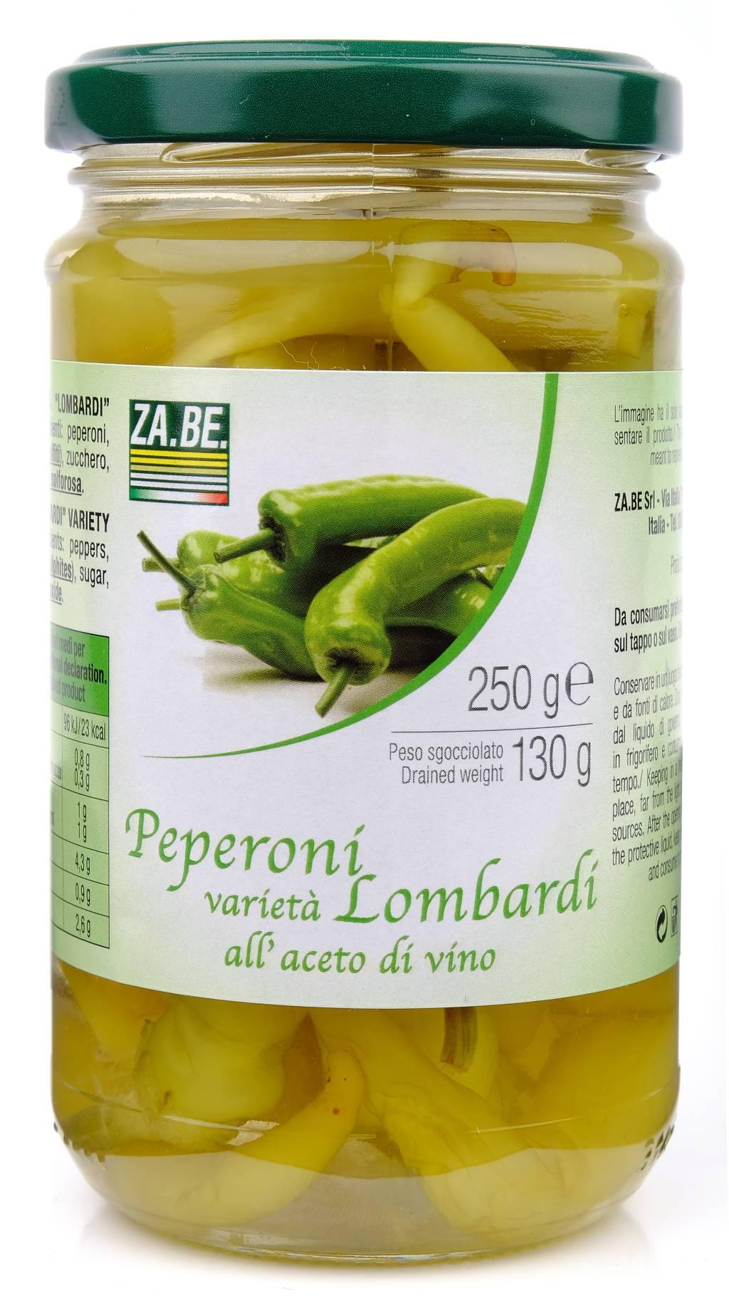 Peperoni Lombardi