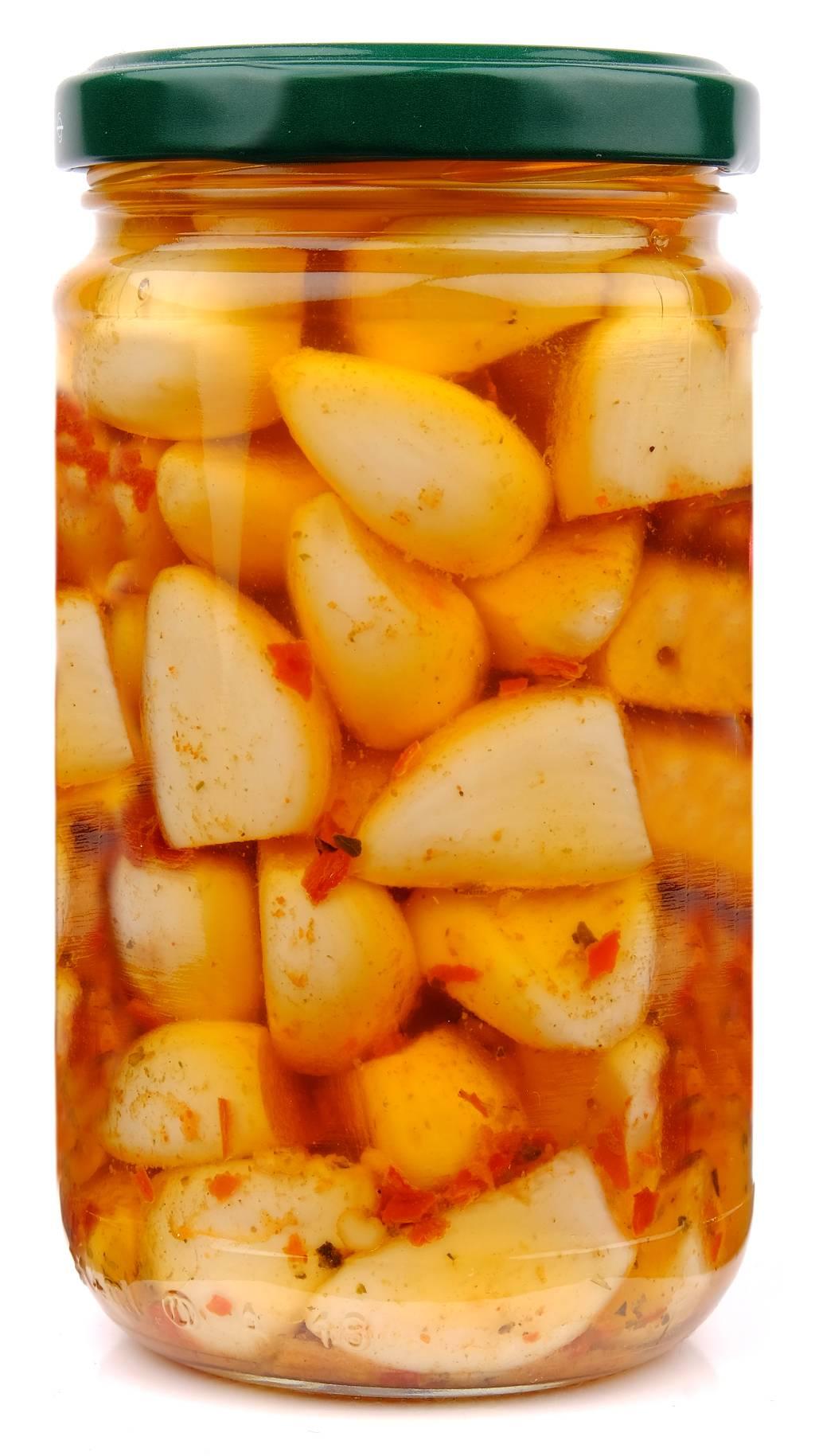 Spicchi D'aglio Al Chili RETRO