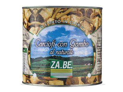 """CARCIOFI CON GAMBO AL NATURALE """"CATERING"""""""