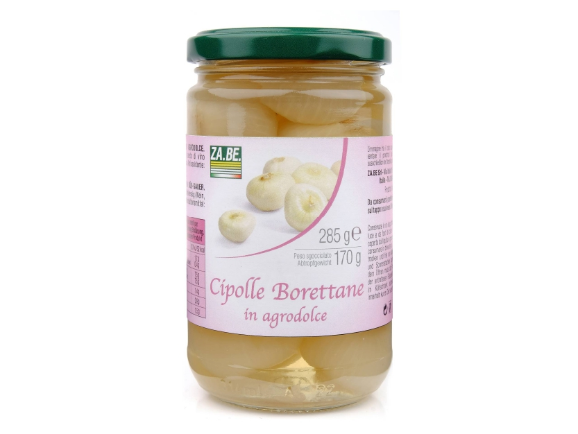 SWEET AND SOUR BORETTANE ONIONS