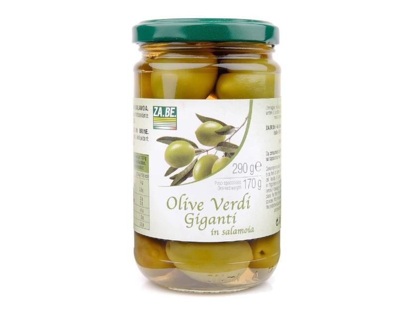 BIG GREEN OLIVES
